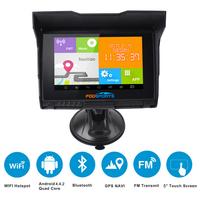 Навигатор Fodsports Мото/Авто, Android, водостойкий,GPS, Wi Fi, 8 ГБ, FM