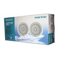 Морская акустика Sony XS-MP1610W