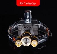 Фонарь налобный 4x4 Sport, LED