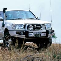 Бампер силовой SAHARA, c установкой для Toyota Land Cruiser 100