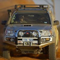 Бампер силовой SAHARA, c установкой для TOYOTA HILUX 2005-2011