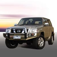 Бампер силовой SAHARA, c установкой для Nissan Patrol Y61 2004-2010