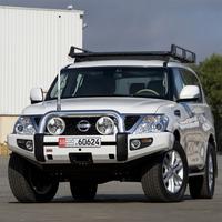Бампер силовой SAHARA, c установкой для Nissan Patrol Y62