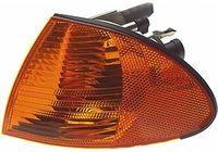 Фонарь указателя поворота левый (желтый) для BMW-3 (E46) 98-02, Hella, 2BA 008 404-011