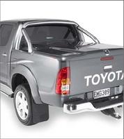 Крышка багажного отсека с дугами Toyota Hilux 2005-15, под покраску (дуги из нерж стали)