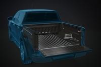 Пластиковая ванна в кузов пикапа SPORTGUARD (под борт, без лого) Toyota Hilux 15+