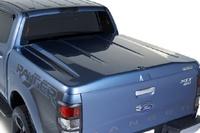 Крышка багажного отсека Ford Ranger 2015+, система крепления TANGO, черная, текстурированный пластик