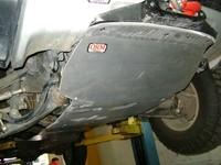 Защита днища, передняя дюраль для Mitsubishi Pajero Sport