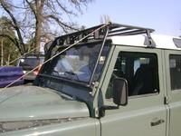 Багажник, с защитой лобового стекла для Land Rover Defender