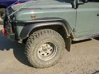 Защита крыльев для Land Rover Defender