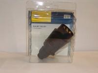 Вилка фаркопа, с резиновым пыльником Hella
