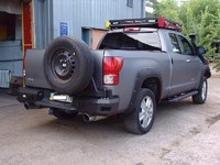 Бампер силовой задний Toyota Tundra
