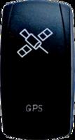 Кнопка с лазерной гравировкой GPS, 4х4sport