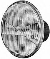 Элемент ближнего света для BMW 3-series E-30 (вставка фары, левая),  1B3126677-051, Hella