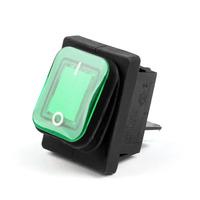 Кнопка включения, зеленый, 4x4sport