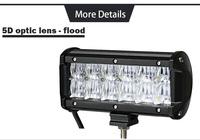 Светодиодная панель 5D, 7 дюймов 60 Вт, CREK flood
