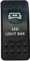 Кнопка включения Led Light Bar 2,ТИП 2, BANDC,  4х4sport