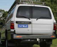 Силовой бампер Kaymar K3415U Toyota LAND CRUISER 105