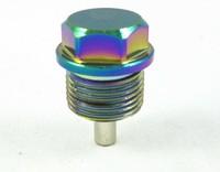 Болт (пробка) для слива масла (масляная) M20x1.5 Зеленый/фиолетовый