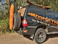 Крепежные ремни, к-кт., MAXTRAX для сендтреков к запасному колесу