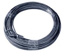 Трос для лебедки EW-12500 24V 9,5мм. х28,5м, T-Max (7345100.5/7346200.5)